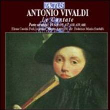 Cantate parte II - CD Audio di Antonio Vivaldi,Federico Maria Sardelli