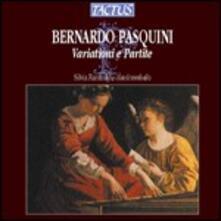 Variazioni e Partite per clavicembalo - CD Audio di Bernardo Pasquini