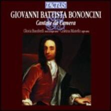 Cantate da camera - CD Audio di Giovanni Battista Bononcini