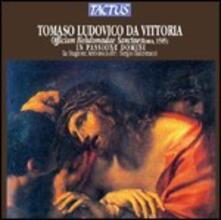 Officium Hebdomadae Sanctae - CD Audio di Tomas Luis De Victoria
