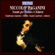 Sonate per violino e chitarra - CD Audio di Niccolò Paganini