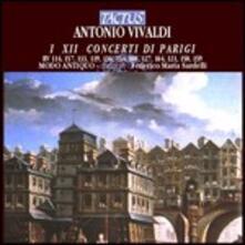 12 Concerti di Parigi - CD Audio di Antonio Vivaldi,Federico Maria Sardelli