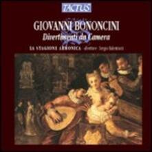 Divertimenti da camera - CD Audio di Giovanni Battista Bononcini