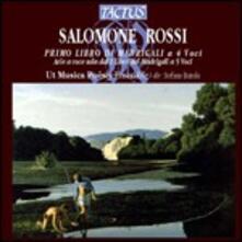 Primo Libro di Madrigali a 4 Voci - CD Audio di Salomone Rossi