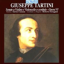 Sonate per violino e violoncello o cembalo - CD Audio di Giuseppe Tartini,Roberto Loreggian