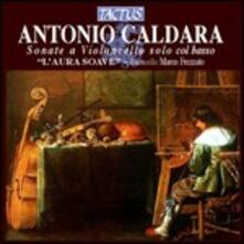 Suonate per violoncello e basso - CD Audio di Antonio Caldara
