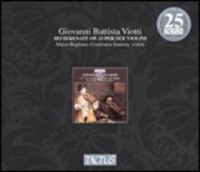 6 Serenate per due violini op.23 - CD Audio di Giovanni Battista Viotti
