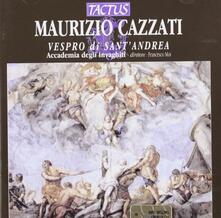 Vespro di Sant'Andrea - CD Audio di Maurizio Cazzati