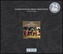 Danze venete del primo Cinquecento - CD Audio