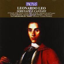 Serenate - Cantate - CD Audio di Leonardo Leo