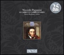 24 Capricci - Caprice d'Adieau - CD Audio di Niccolò Paganini