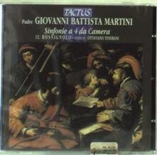 Sinfonie a 4 da camera - CD Audio di Giovanni Battista Martini