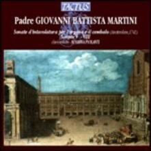 Sonate d'intavolatura (organo e cembalo) V-VIII - CD Audio di Giovanni Battista Martini