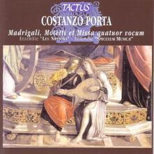 Madrigali - Mottetti - Messa - CD Audio di Costanzo Porta
