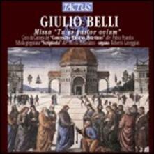 Missa Tu Es Pastor Ovium - CD Audio di Giulio Belli