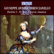 Partite I-VI per chitarra classica - CD Audio di Giuseppe Antonio Brescianello