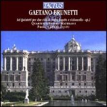 6 Quintetti per due violini, viola, fagotto e violoncello op.2 - CD Audio di Gaetano Brunetti