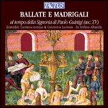 Ballate e Madrigali del '400 - CD Audio