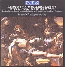 Canoro pianto di Maria Vergine - CD Audio