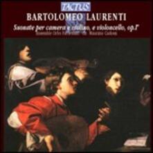 Suonate per camera e violino - CD Audio di Bartolomeo Laurenti
