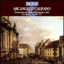 Sonate a tre per 2 oboi, fagotto e basso continuo - CD Audio di Arcangelo Califano