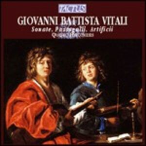 Foto Cover di Sonate - Passagalli - Artificii, CD di Giovanni Battista Vitali, prodotto da Tactus