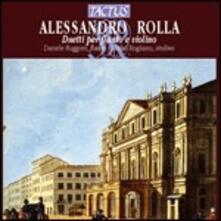 Duetti per flauto e violino - CD Audio di Alessandro Rolla