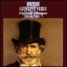Trascrizioni per organo - CD Audio di Giuseppe Verdi