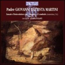 Sonate d'intavolatura (organo e cembalo) IX-XII - CD Audio di Giovanni Battista Martini