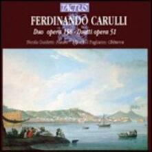 Duetti per chitarra e flauto - CD Audio di Ferdinando Carulli