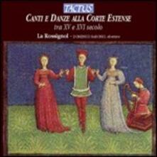 Canti e danze alla corte Estense, XV-XVI sec. - CD Audio