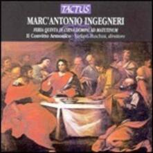 Feria Quinta in Coena Domini ad Matutinum - CD Audio di Marc'Antonio Ingegneri