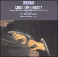 Il Transilvano. Toccate - Ricercari - Canzoni - Inni - CD Audio di Girolamo Diruta,Marco Ghirotti