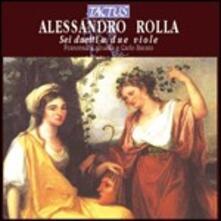6 Duetti a 2 viole - CD Audio di Alessandro Rolla
