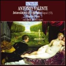 Intavolatura di cimbalo. Napoli 1576 - CD Audio di Antonio Valente