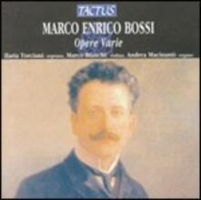 Opere varie - CD Audio di Marco Enrico Bossi