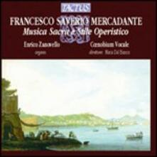 Musica sacra. Stile operistico - CD Audio di Saverio Mercadante
