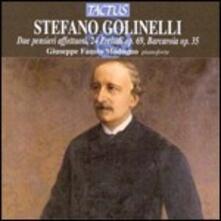 24 Preludi - 2 Pensieri Affettuosi - Barcarola - CD Audio di Stefano Golinelli