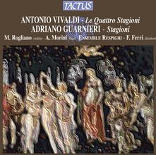 Le quattro stagioni / Stagioni - CD Audio di Antonio Vivaldi,Adriano Guarnieri