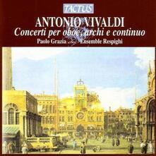 Concerti per oboe, archi e continuo - CD Audio di Antonio Vivaldi