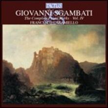 Opere per pianoforte vol.4 - CD Audio di Giovanni Sgambati