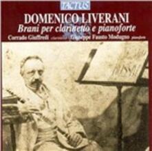 Brani per clarinetto e pianoforte - CD Audio di Domenico Liverani