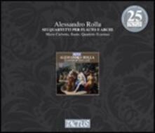 6 Quartetti per flauto e archi - CD Audio di Alessandro Rolla