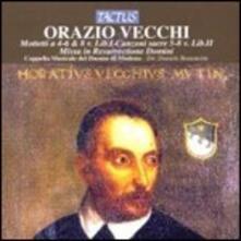 Mottetti - Canzoni sacre - Missa - CD Audio di Orazio Vecchi
