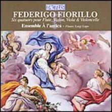 6 Quartetti con flauto - CD Audio di Federigo Fiorillo