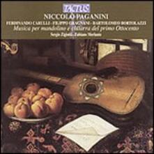 Musica per mandolino e chitarra - CD Audio di Niccolò Paganini