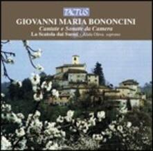 Cantate e sonate da camera - CD Audio di Giovanni Battista Bononcini