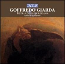 Opera omnia per organo - CD Audio di Goffredo Giarda