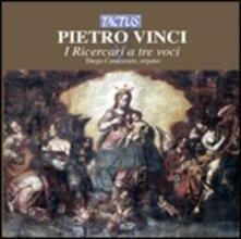 Secondo libro di Ricercari a tre voci - Primo libro di Musica a due voci - CD Audio di Pietro Vinci