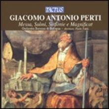Messa - Salmi - Sinfonie - Magnificat - CD Audio di Giacomo Antonio Perti